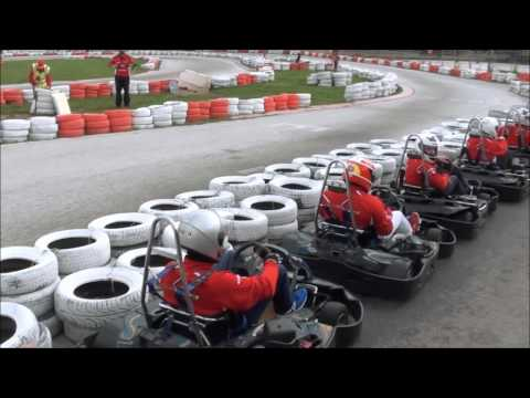 02 - F1 Fans Kart Challenge Athens 2016 - Race 1 - Group 2
