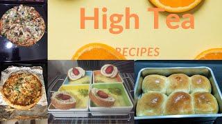 High Tea Recipes Introduction