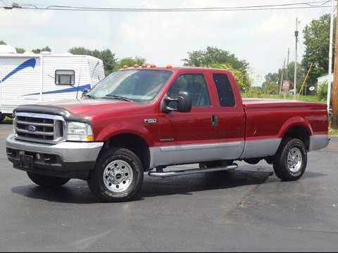 2003 Ford F250 XLT 4x4 7.3L POWERSTROKE Ex Cab LONG BED ...