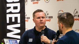 Thielmann at the CA Craft Beer Summit 2018
