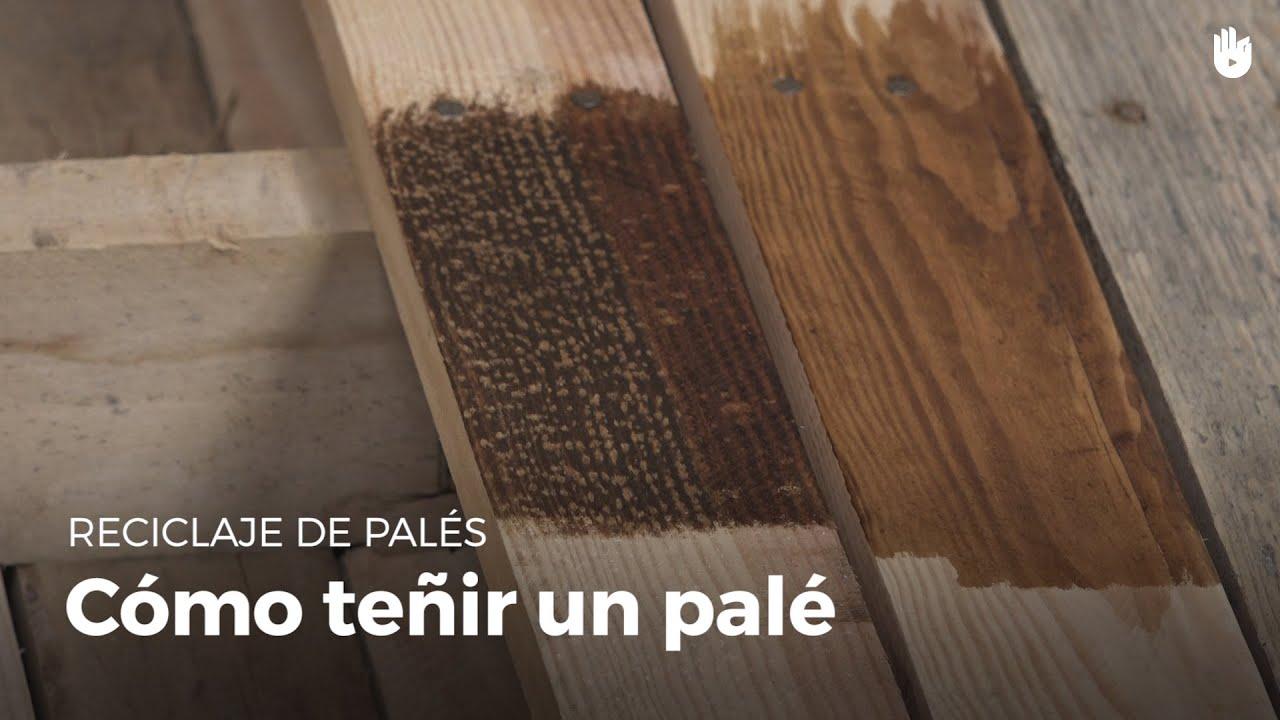 Cmo teir la madera  Reciclaje de pals  YouTube