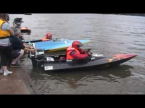 Charlotte Gilbert at Bodymoor 2008 Powerboat Racing