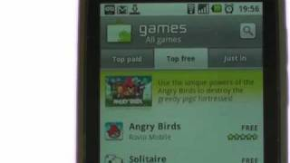 Downloading Apps | LG Optimus One | The Human Manual