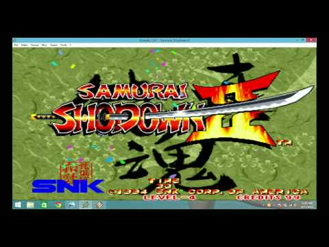SAMURAI SHODOWN 2 THE SUNX7 |