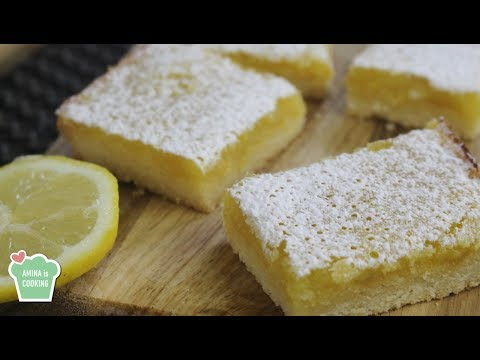 Lemon Bars Recipe - Episode 171 - Amina is Cooking thumbnail