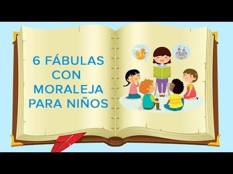 6 Fábulas Con Moraleja Para Niños | Cuentos Infantiles Con Valores