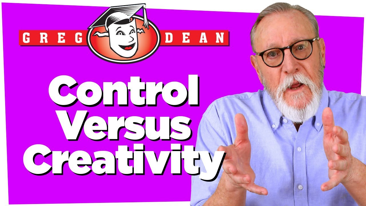 Control Versus Creativity - Learn Stand Up Comedy - Greg Dean