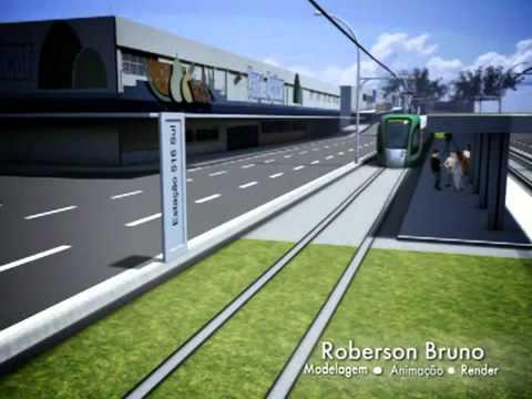 Simulação do VLT de Brasília