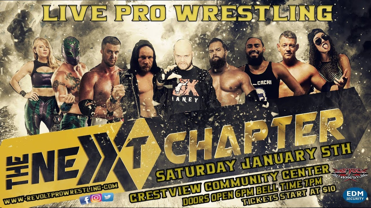 Download Revolt Pro Wrestling: The Next Chapter, FULL SHOW, January 5, 2019