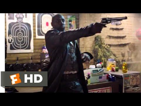 The Dark Tower (2017) - Gunslinger in a Gun Store Scene (8/10) | Movieclips
