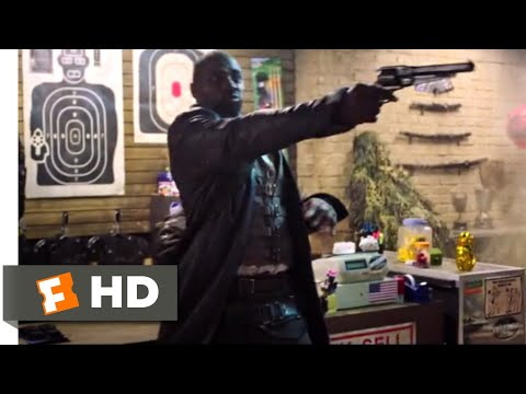 The Dark Tower (2017) - Gunslinger In A Gun Store Scene (8/10) | Movieclips
