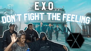 First Time Reacting To Exo 엑소 Don T Fight The Feeling Mv Reaction