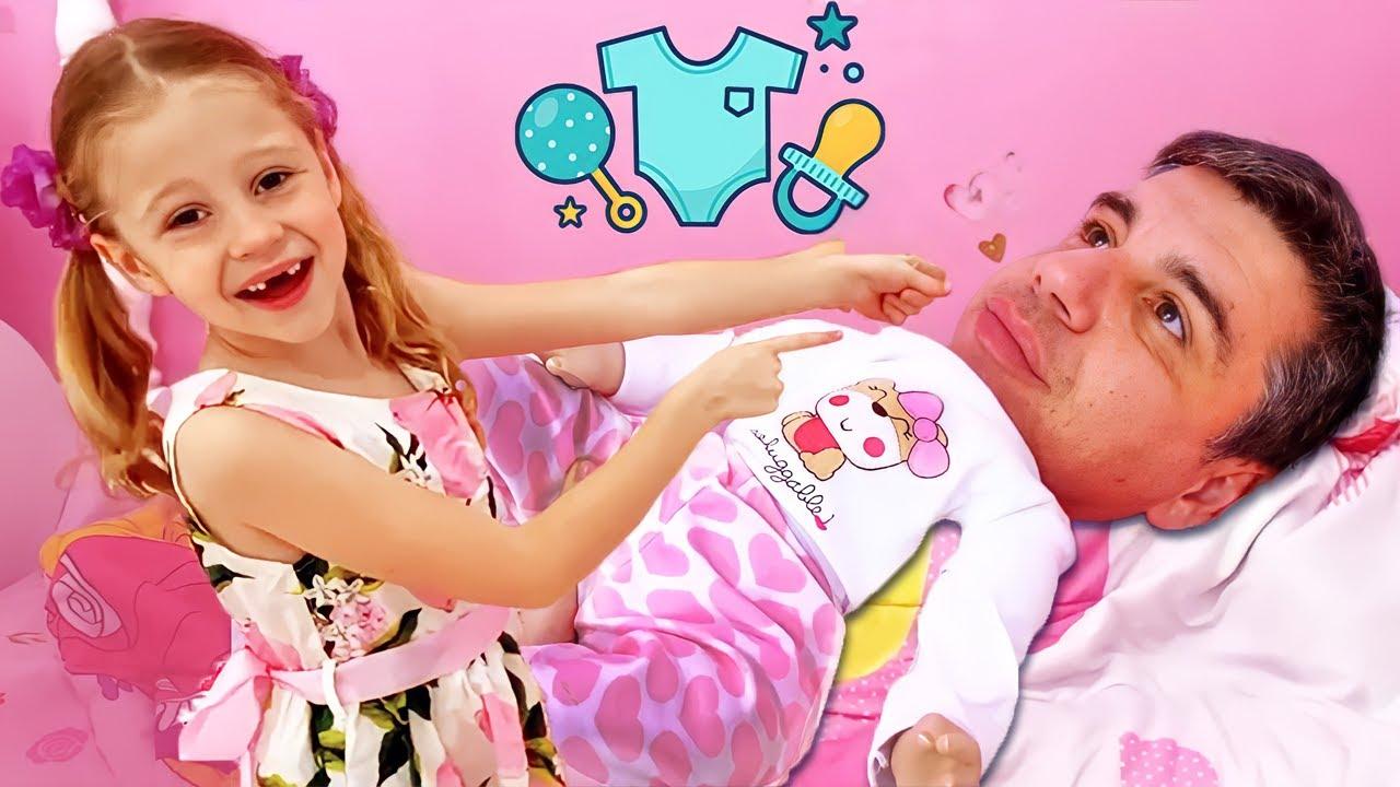 Nastya et papa jouent à de nouveaux jeux amusants pour les enfants