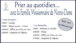 Chapelet, Vêpres et Bénédiction du Saint-Sacrement dimanche 14 avril 2019