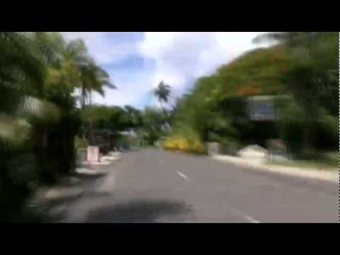 Around Rarotonga in 8 minutes
