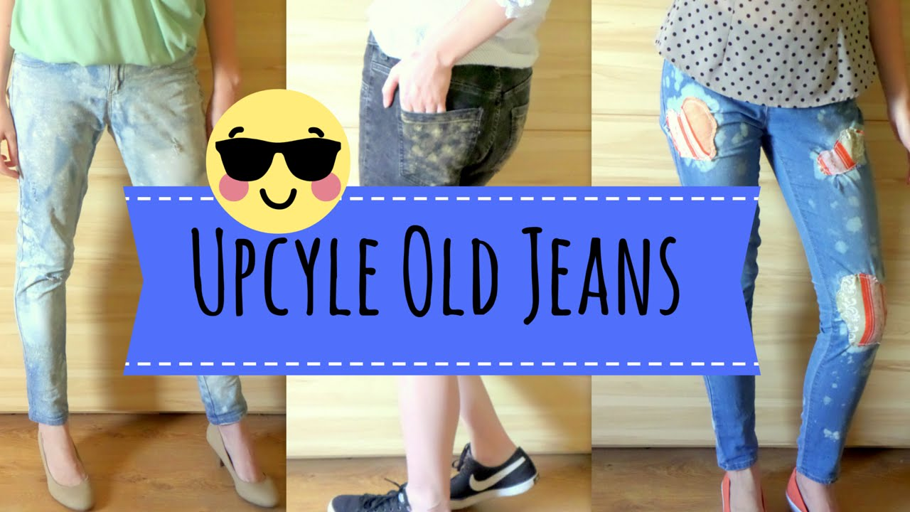 Diy Easy Jeans Upcycle Ideas What To Do With Old Jeans By Fluffy