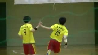20180204九州高等学校ハンドボール選抜大会 男子 5位決定戦 九州産業vs熊本国府(後半2/2)