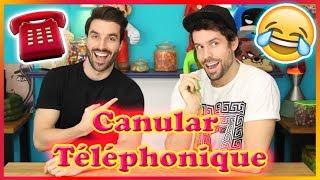 CANULAR TELEPHONIQUE - ON APPELLE L'ATELIER DE ROXANE  ☎️📞😂
