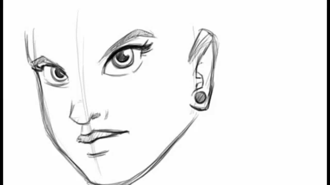 Well-known Como desenhar uma garota | Desenho rápido - YouTube TE03