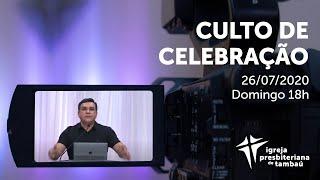 IPTambaú | Culto de Celebração Ao Vivo | 26/07/2020