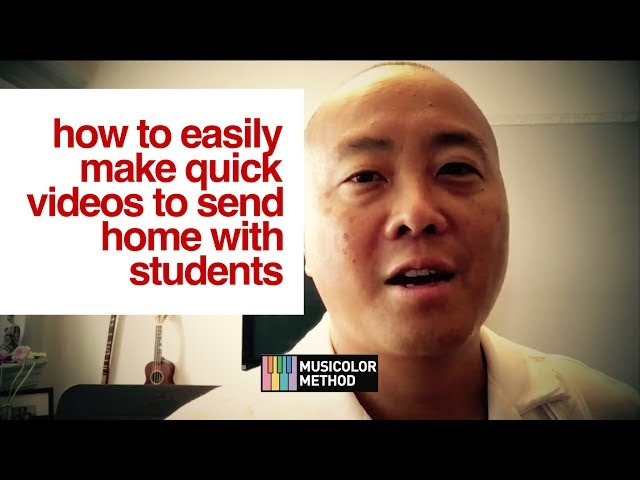 How To Easily Make Quick Videos To Send Home With Students