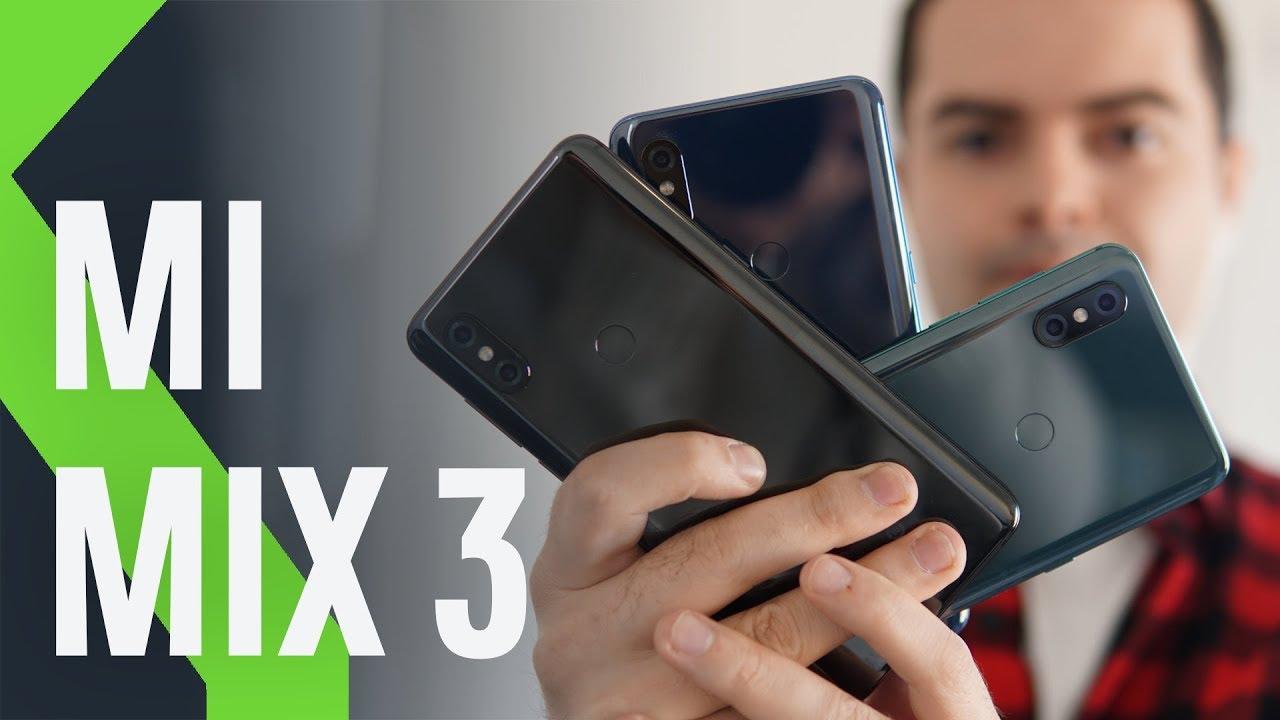 Xiaomi Mi Mix 3 Primeas Impresiones Potencia Bruta Para Conquistar La Gama Alta Youtube