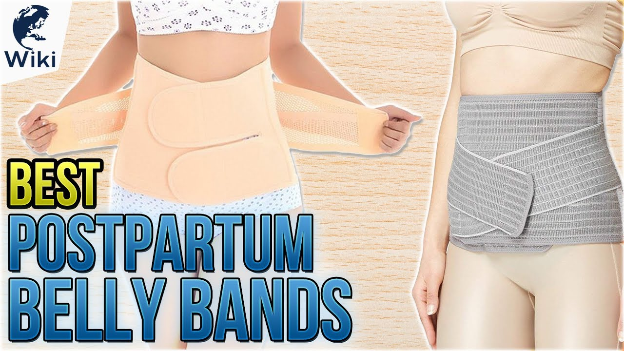 1a2dba0a12c 10 Best Postpartum Belly Bands 2018 - YouTube