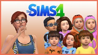 7 Toddlers Challenge#1 The Sims 4 Türkçe