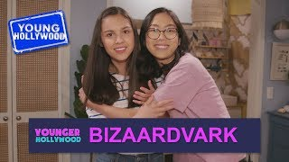 Inside the Vuuugle House with the Cast of Bizaardvark!