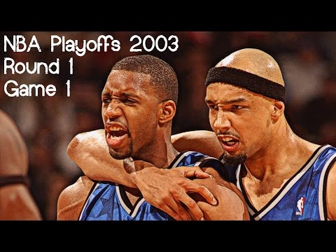 Tracy McGrady & Drew Gooden 61 points combined @ Detroit Pistons (NBA Playoffs 2003 R1G1)