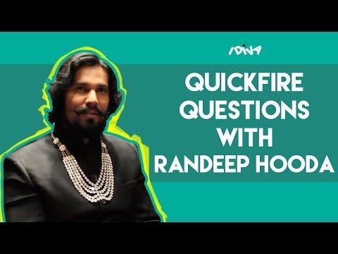 iDIVA - Quickfire Questions With Randeep Hooda | Randeep Hooda Interview