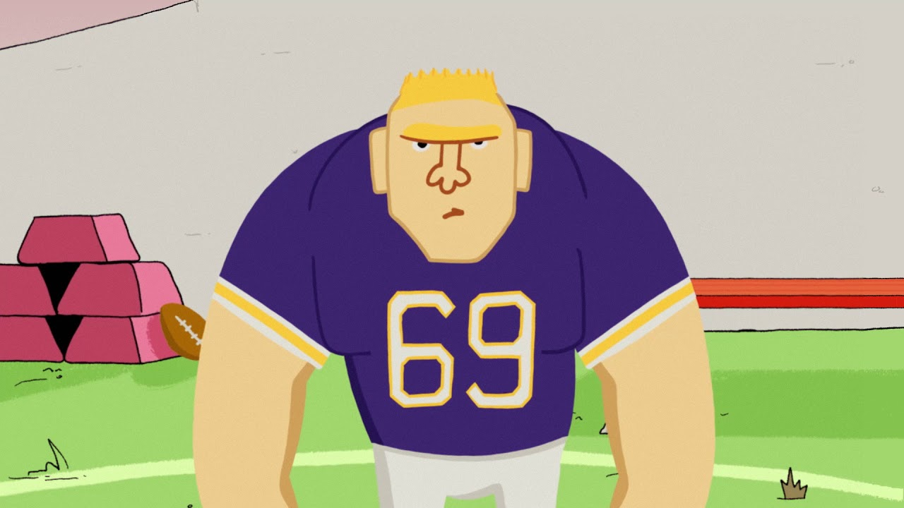 brand new 9f2d9 9be13 BROCK LESNAR went to VIKINGS camp & took the NFL to SUPLEX CITY