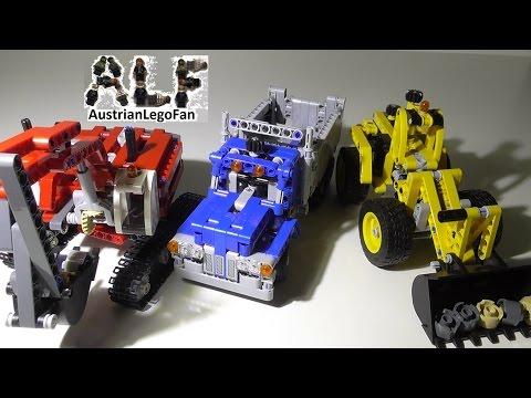 lego technic volvo l350f wheel loader 42030 instructions