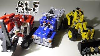 Lego Technic 42023 Construction Crew / Baustellen Set - Lego Speed Build Review