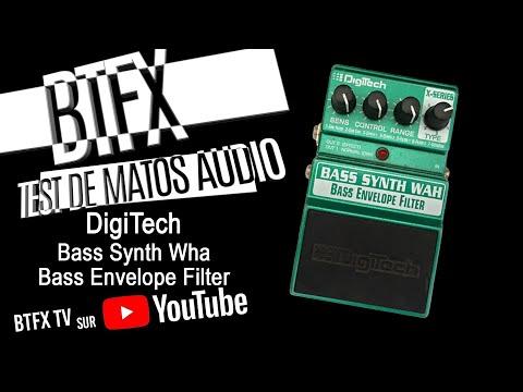 BTFX Digitech Bass Synth Wha Bass Envelope Filter