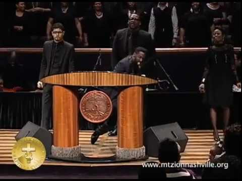 NEW TYE TRIBBETT VIDEO! MINISTRING AT MT ZION.flv