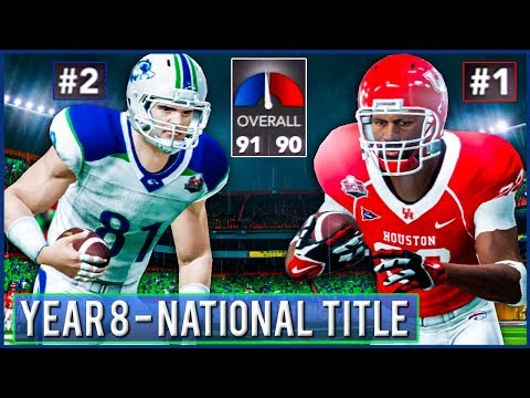 National Championship vs #1 Houston - NCAA Football 14 Dynasty Year 8 | Ep.145