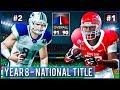 National Championship vs #1 Houston - NCAA Football 14 Dynasty Year 8 | Ep.145