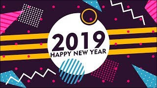 Vector Banner Design Tutorial New Year 2019 Design