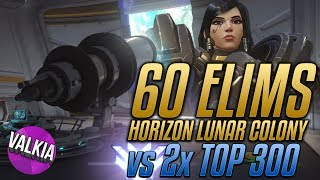 Out of this WORLD! 60 ELIMS vs Gale - NEW HORIZON MAP! || Valkia ft. EeveeA_