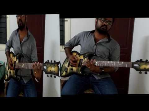 KABALI Neruppu Da(Theme) Almost perfect Guitar Cover