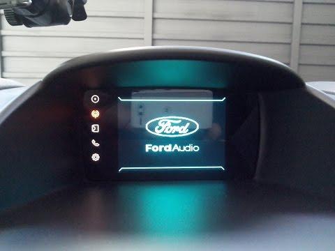 Ford NEW FIESTA Solucionando problema do SYNC (reset tirando fusível)