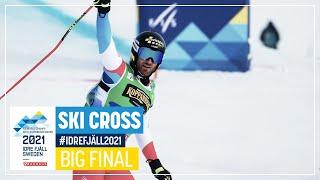 Fiva claims maiden World title   Men's Ski Cross   Idre Fjäll   2021 FIS Cross World Championships