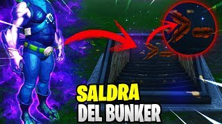 NEW SECRET CHARACTER WILL COME OUT OF BUNKER SEASON 7 FORTNITE: BATTLE ROYALE