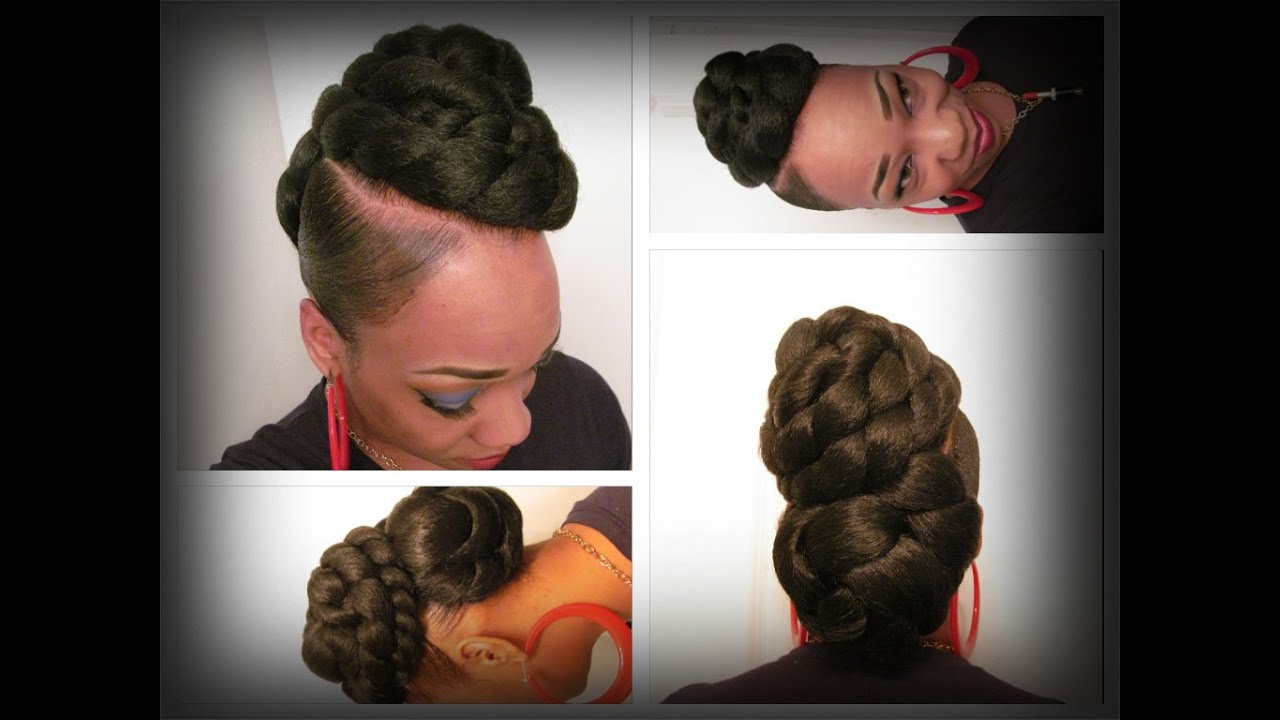 Fourth Of July Hairstyles Quick Fourth Of July Updo Youtube
