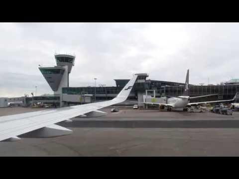 Full Flight Helsinki-Zurich Finnair Part 1