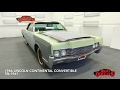 DustyOldCars 1966 Lincoln Continental Convertible SN:1961
