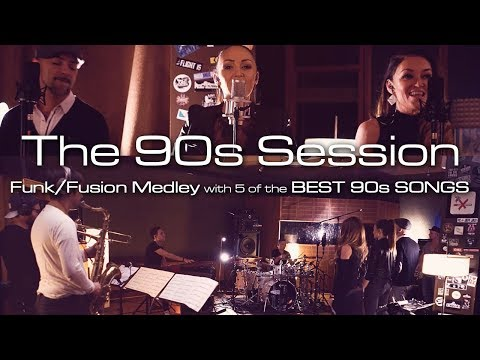 Famous 90s Songs: 5 Top Pop Hits in a Funk / Jazz Band Medley | The 90s Session