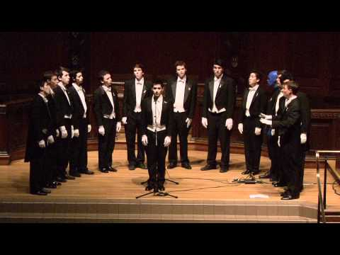 "Whiffenpoofs of 2012 - ""Entire Concert"" - Parents Weekend 2011"