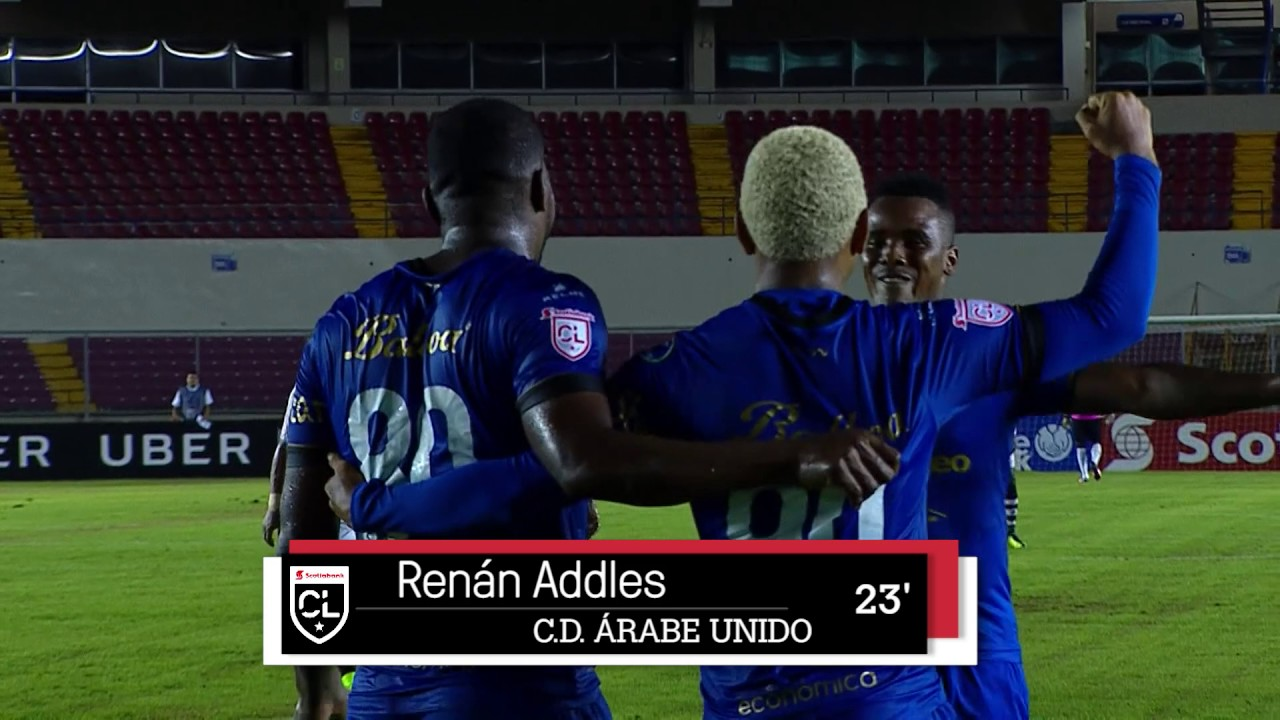 Scl 2017 Cd Arabe Unido V Central Fc Highlights